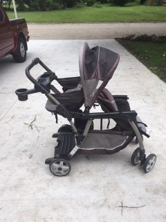Collapsible Double Stroller