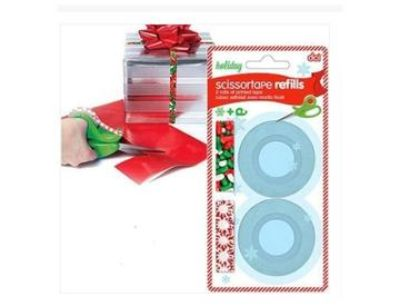 Holiday tape refill bundle 12 rolls printed design tape 1/2""