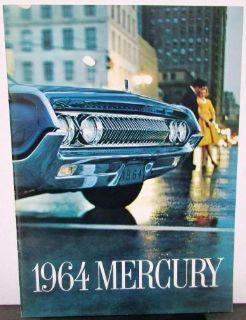 Find 1964 Mercury Dealer Prestige Sale Brochure Park Lane Montclair Monterey Marauder motorcycle in Holts Summit, Missouri, United States, for US $24.64