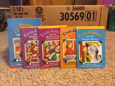 Set of 5 Cam Jansen books