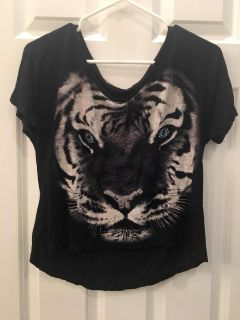 Gorgeous Leopard Too! SZ M Teen Girl s (I think) Great Condition! Eyes are gems!
