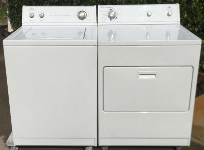 Whirlpool Heavy Duty Super Capacity Electric Washer & Dryer