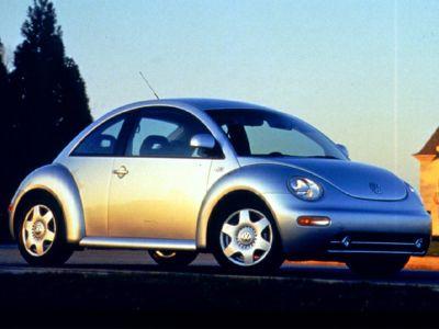 1999 Volkswagen New Beetle GLS (Yellow)