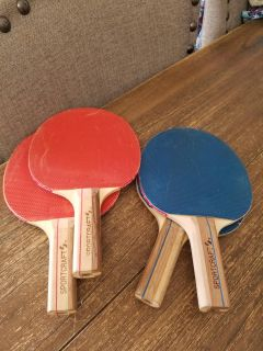 Ping Pong/Table Tennis Paddle Set (paddles only)