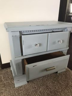 Adorable end table or nightstand