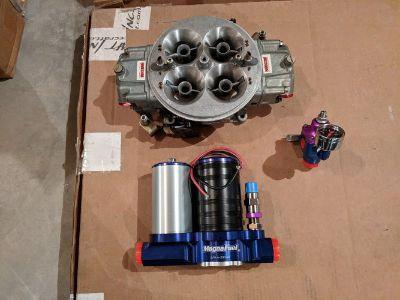 Carburetor, Fuel Pump and Regulator
