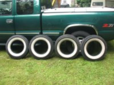 4 used 670x15 WWW Tires