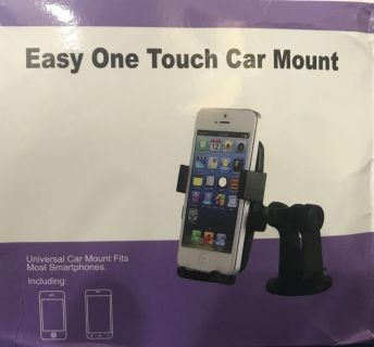 New One Touch Phone Holder Car Mount