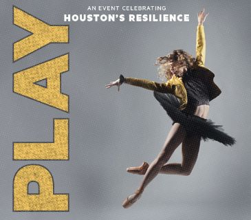 """(2/4) """"PLAY"""" Houston Ballet 4th Row Lower Level Tix - CHEAP - Sat, June 9 - Call Now!"""