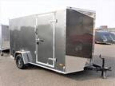 2019 RC Trailers 7x12SA Enclosed 7' Int Cargo - Charcoal