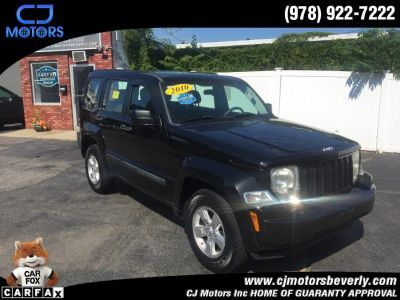 2010 Jeep Liberty Sport (Brilliant Black Crystal)