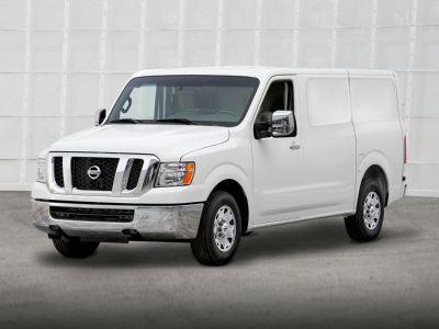 2019 Nissan NV1500 SV (Glacier White)