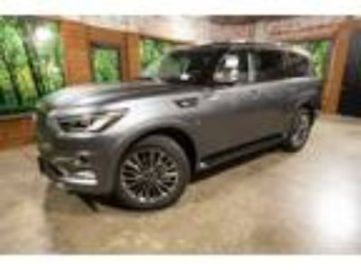 2018 INFINITI QX80 Base 4WD, Deluxe Tech, Theater, 22in Wheels