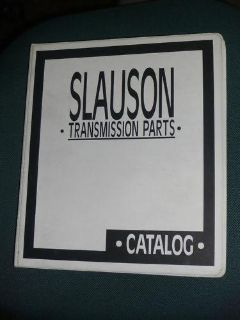 Sell Slauson Transmission Parts Catalog 1994 GM Mercedes motorcycle in Union City, California, US, for US $75.00