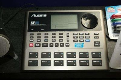$100 Alesis SR18 Drum Machine