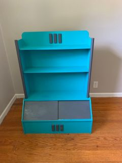 Toy box and storage shelf