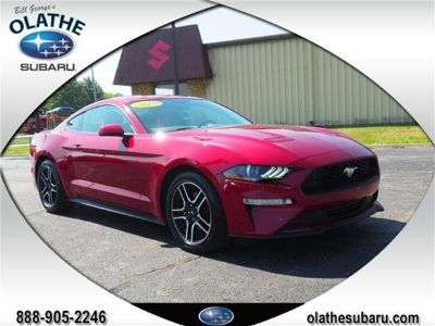 2018 Ford Mustang EcoBoost Premium (Ruby Red Metallic Tinted Clearcoat)