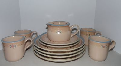 Noritake Arizona Stoneware for 4 ~ Excellent Condition