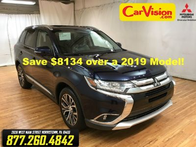 2018 Mitsubishi Outlander SE (Cosmic Blue Metallic)