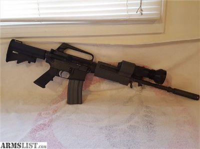 For Sale: Colt Retro M4 AR15 W/surefire