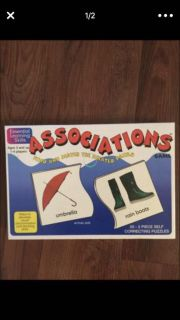 Learning Game Associations