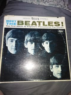 Vintage Meet The Beatles Record