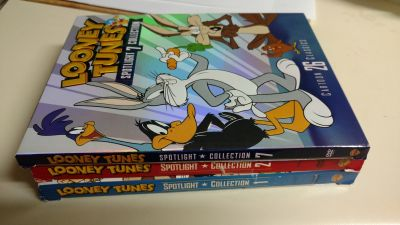 Looney Tunes collection sets. 2 DVDs in each set.