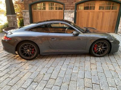 2014 Porsche 911 4S Agate Grey with Low Miles, Sport Exhaust and Duck Tail