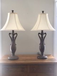 Pair of Traditional Style Lamps