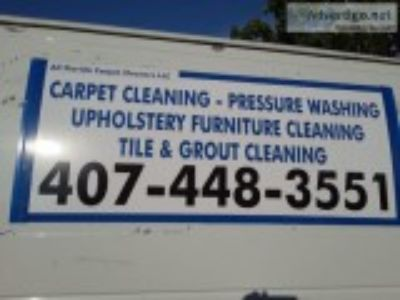 Carpet cleaning pressure washing tile