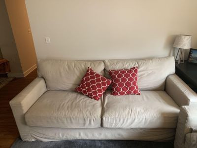 Crate + Barrel Couch Set (with sleeper sofa)