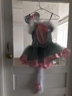 Gray Mouse Costume used for Dance recital