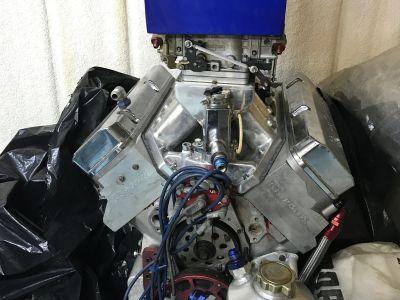 Big Block Chevy Racing Engine - 635 c.i. - 1220 HP - Aluminu