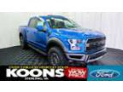 2019 Ford F-150 Raptor LOADED 802A, VELOCITY BLUE, BEAD-LOCK WHEELS, LEATHER