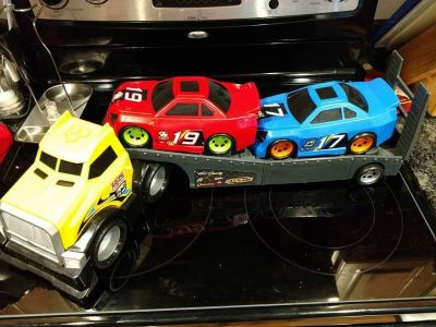 Truck and Trailer toy