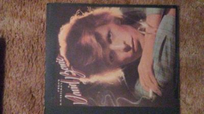 "David Bowie "" Young Americans"" LP"