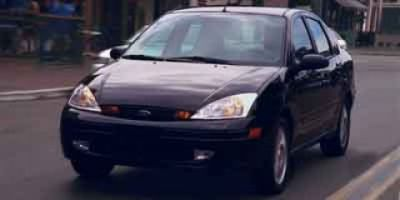 2001 Ford Focus SE (CD Silver Clearcoat Metallic)