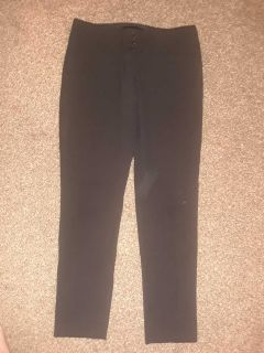 The limited black collection pants
