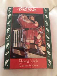 Coca Cola playing cards still wrapped each $15.00 collectables