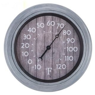 Brand NEW! Gray Shiplap Thermometer