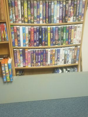 81 VHS Movies