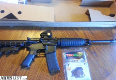 For Sale: Bushmaster AR15 AR 15 XM 15, 5.56/223 with RED DOT SIGHT