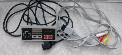 Nintendo Controller and Cable