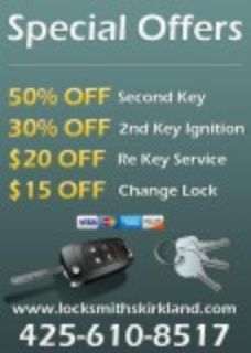 Locksmiths In Kirkland WA
