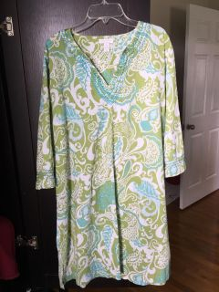 Charter club swimsuit cover-up/long tunic