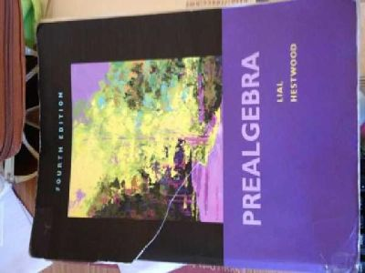 $50 Pre-Algebra Book for 103