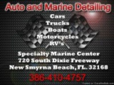 Auto Truck Boat RV s - Detailing Services Specialty Marine Cent