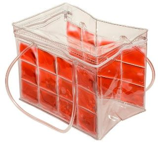 Freezable PVC 6-Can Flexi Chiller Bag with Zippered Top & Handles NEW ( Two Chiller Bags Available ) $5 EA