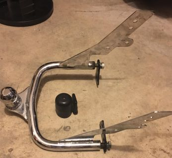 80 - 08 Harley Motorcycle Trailer hitch and receiver