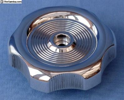 Westfalia louvre window knob - billet aluminum.